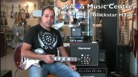 تست آمپلی فایر گیتار Blackstar HT-5
