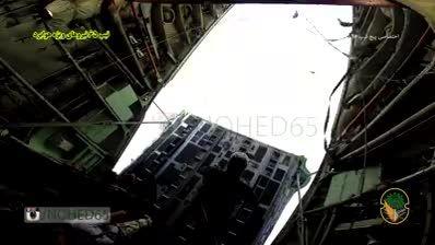 تیپ 65 نیرو های ویژه هوابرد - اجرای پرش با چتر اتوماتیک