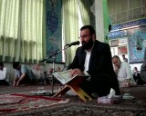 ازسمات حاجی نبوی در حسینیه امام زاده سلطان سید محمد قزوین قسمت( سوم) از نه بخش