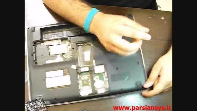 آموزش بازکردن لپ تاپ hp pavilion dv5