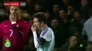 بالاخره رونالدو و مسی باهم دوست شدن !