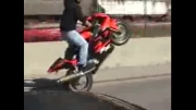 تک چرخ زدن با موتور سنگین