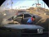 تصادف در حال فرار