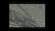 تصاویر ضبط شده توسط پهپاد ایرانی از ناو هواپیمابر یو اس اس رونالد ریگان