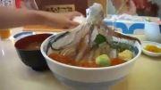 ماهی مرکب غذای سنتی ژاپنی ها