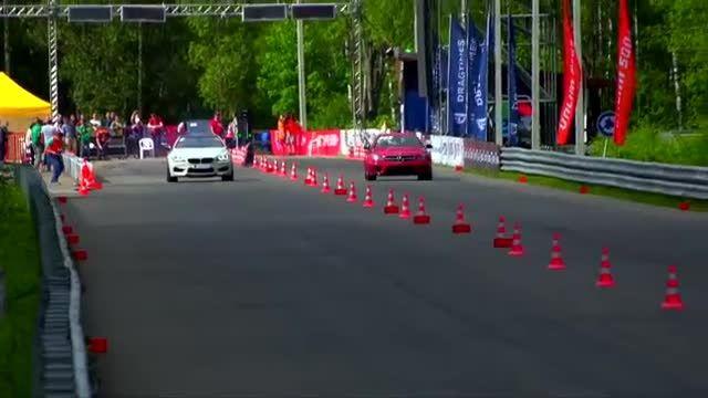 Mercedes-Benz C63 AMG vs BMW M6 vs Corvette ZR1