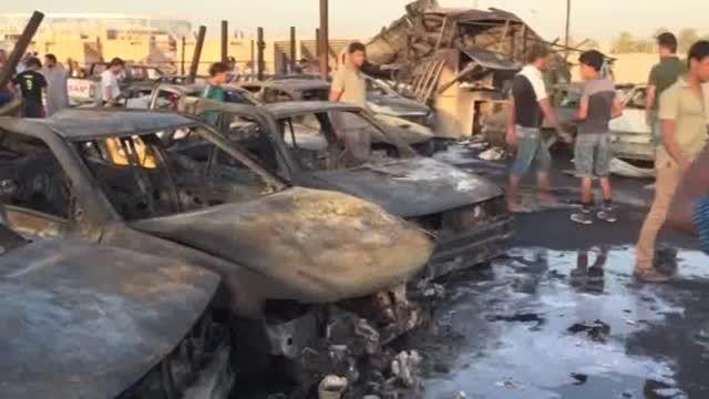 بغداد بازهم با انفجار لرزید