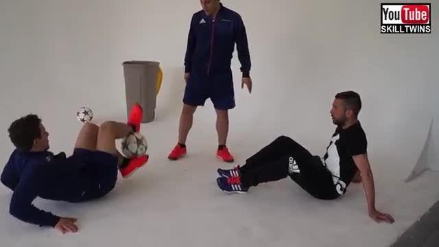 حرکات دیدنی و تماشایی جوردی آلبا (مدافع بارسلونا)