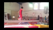 مسابقات ژیمناستیک کودکان در دزفول مهدی جهانگیری
