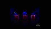ترکیب تکنولوژی و رقص انسان_فوق العاده زیبا