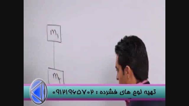 حل تست های فیزیک با مدرس تکنیکی مهندس مسعودی (4)
