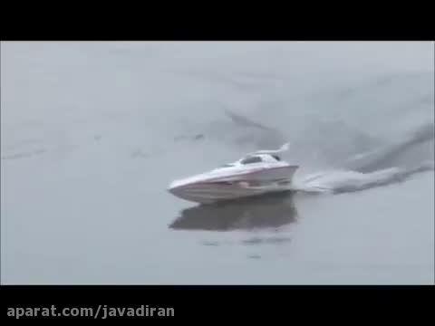 قایق کنترلی پر سرعت Blue Streak ۷۰۰۸ -2