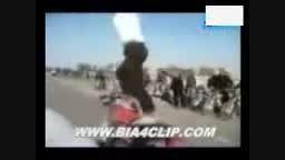 موتور سواری اونجوری در ایران !!!