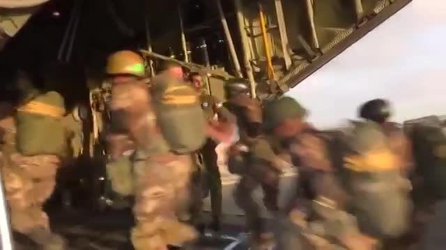 پادشاه اردن و سپاه اردن - در حال اجرای عملیات