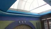 سقف بازشو استخر - ریموت دار