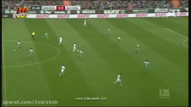 خلاصه بازی؛ وردربرمن 0-1 بایرن مونیخ