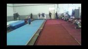 اجرای حرکات ژیمناستیک توسط نوجوانان ژیمناستیک کار دزفول