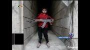 کودک هشت ساله مسلح سوری