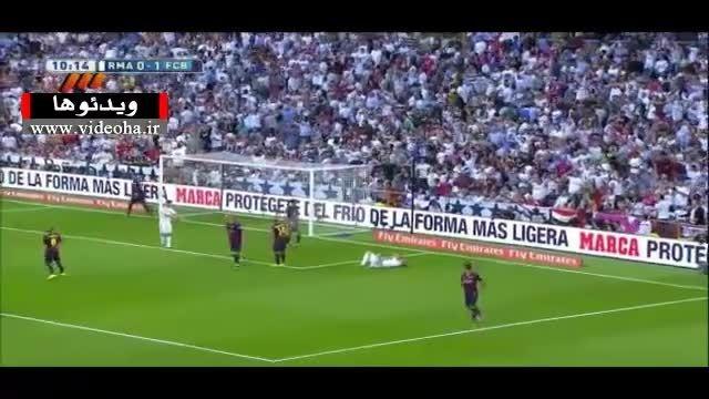 خلاصه بازی رئال مادرید ۳-۱ بارسلونا