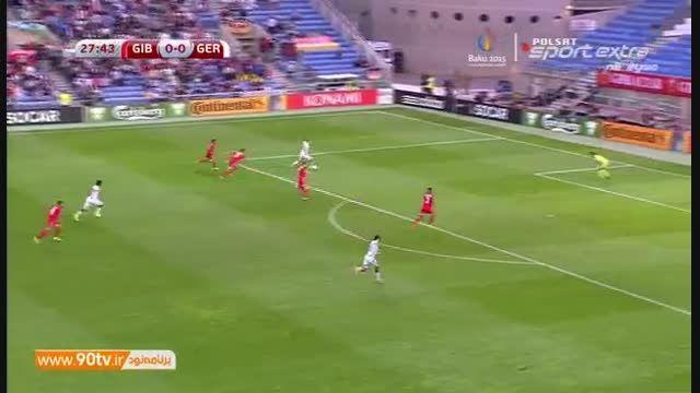 خلاصه بازی: جبل الطارق ۰-۷ آلمان