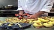 بهترین روش برای پوست گرفتن سیب