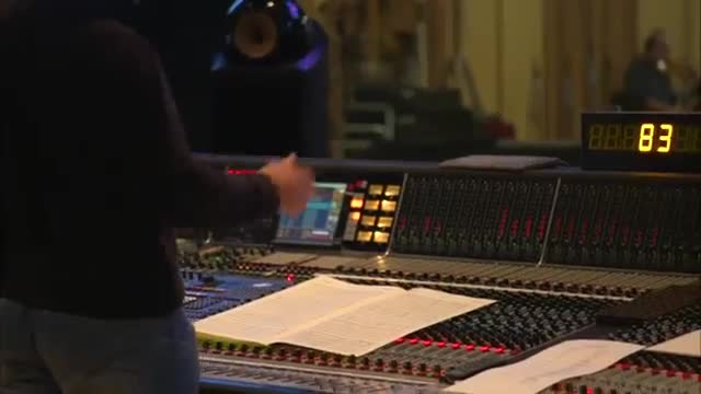 پشت صحنه ضبط آهنگ 6 قهرمان بزرگ{هنری جکمن}