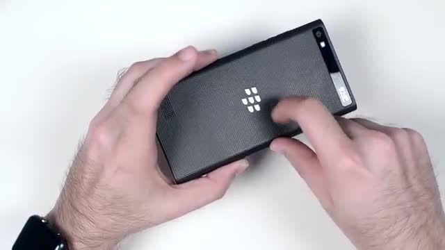 بررسی گوشی بلک بری لیپ : گوشی خاص و زیبا