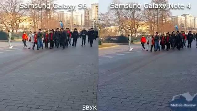 Samsung Galaxy S6 vs Note 4_Camera Comparison
