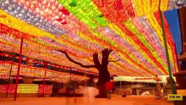 تایم لپسی فوق العاده زیبا از کشور کره ی جنوبی (دیدنی)