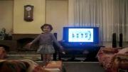 رقص فوق الاده دختر کوچولوی گیلکی.