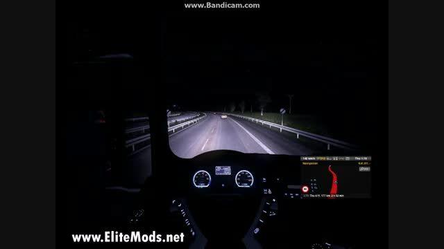 الیت مدز - کیلومتر شمار کامیون مان