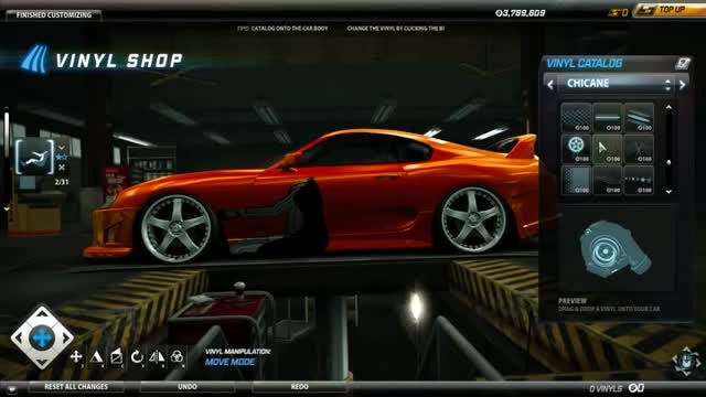 toyota fast and furious for need for speed world