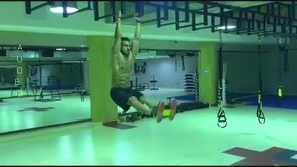 شکم وپهلو توسط مهرشاد حاجی خانی -آموزش صحیح حرکت شکم