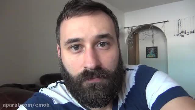 تایم لپس رشد ریش در 365 روز