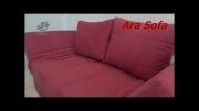 مبل تخت خواب شو مدل D11 - سایت AraSofa.com