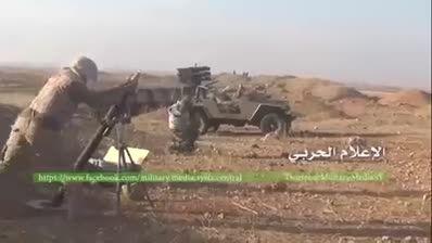 اولین فیلم از حضور نیروهای سپاه پاسداران ایران در حلب