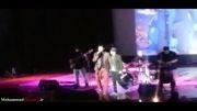 کنسرت محمد علیزاده و همخوانی مرتضی پاشایی در کنسرت کیش