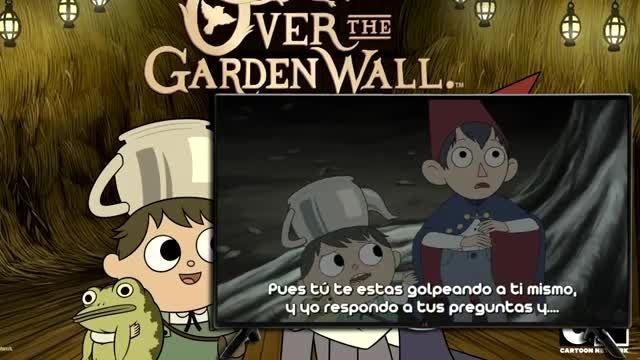 فسمت اول over the garden wall (بیش از دیوار باغ)