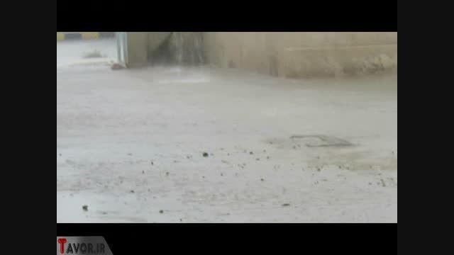 طوفان شدید در بوشهر