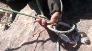 گره قفل برای حمایت - Munter Mule combination hitch