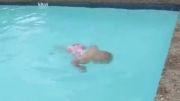 شنای کودک