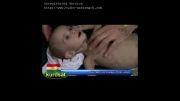 تصاویری تکان دهنده از یک کودک سوری
