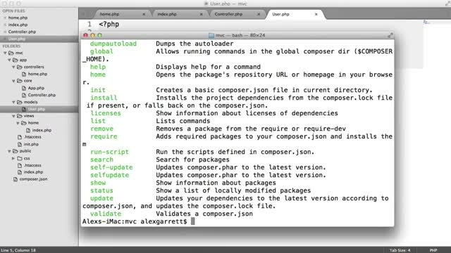 آموزش PHP MVC با ساخت یک App - Database (9/9)