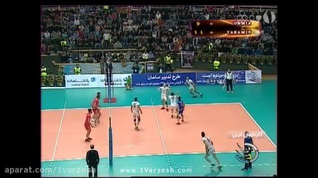 نتایج رقابت های هفته پنجم لیگ برتر والیبال ایران