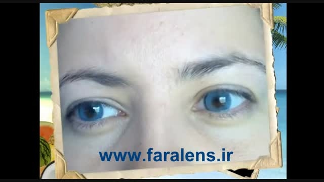 لنز رنگی سولوتیکا نچرال کالرز Solotica | Azul