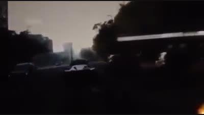 فیلم تصادف فراری لافراری در بوداپست مجارستان