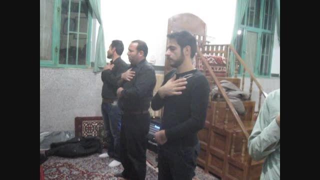 مراسم سینه زنی محرم وصفر...مسجد امام حسین(ع)شهرخنجین4