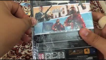 آنباکسینگ GTA V  نسخه PC