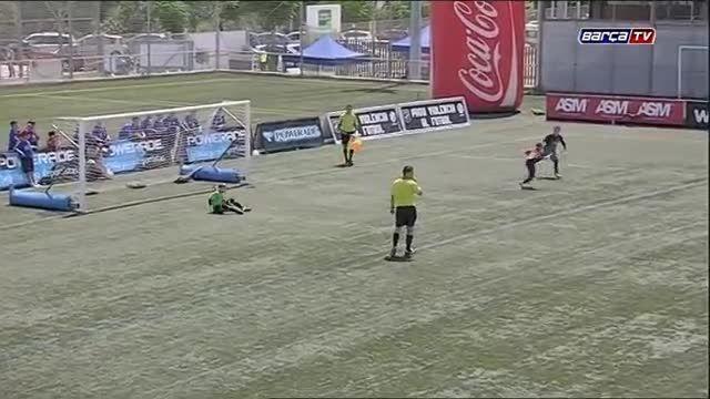 تیم های پایه بارسلونا در جام کاتالونیا