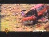 سقوط می نی بوس به دره در مسیر جاده ایلام به کرمانشاه